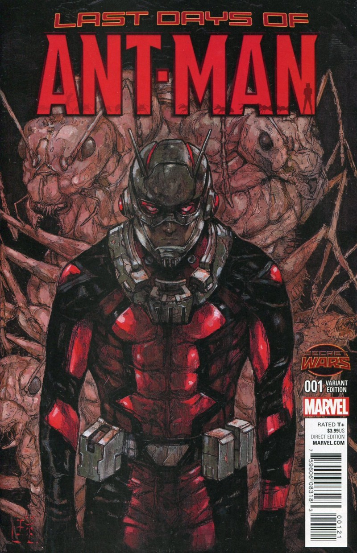 Ant-Man Last Days #1  Manga Variant