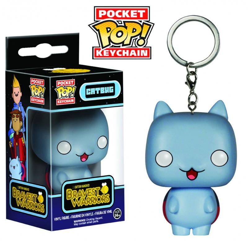 Bravest Warriors Keychain Catbug Funko Pocket Pop