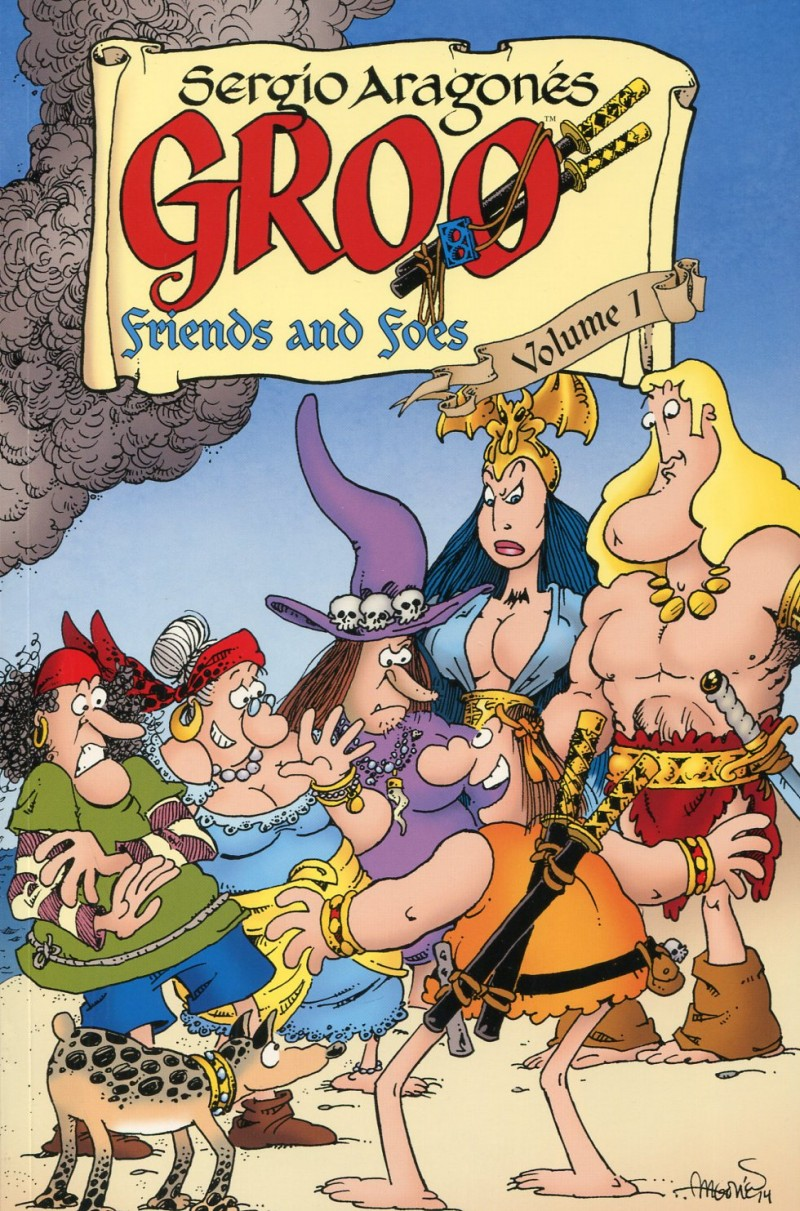 Groo Friends and Foes TP  V1