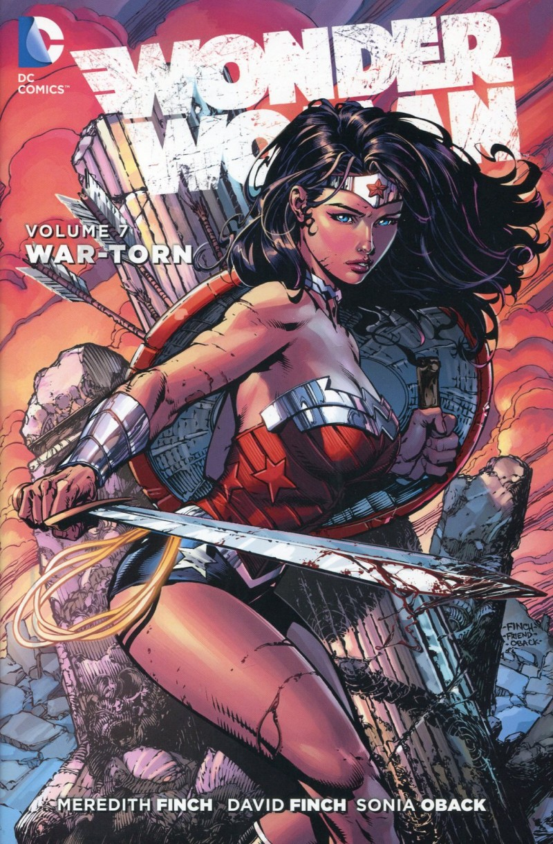 Wonder Woman HC New 52 V7 War Torn