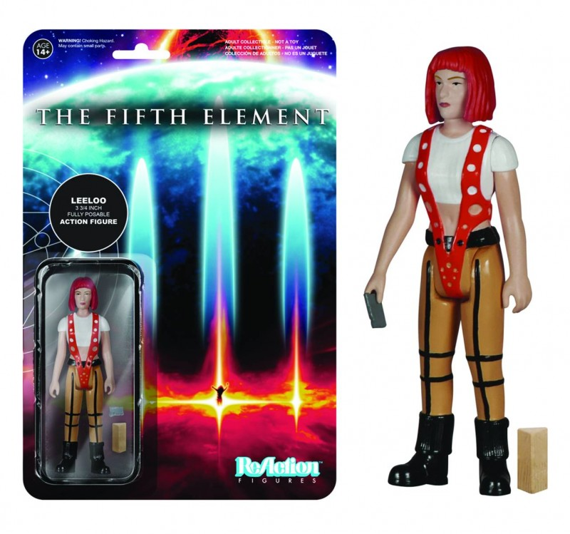 Reaction 5th Element  Leeloo AF