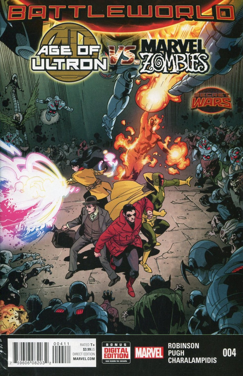 Age of Ultron Vs Marvel Zombies #4 Secret Wars