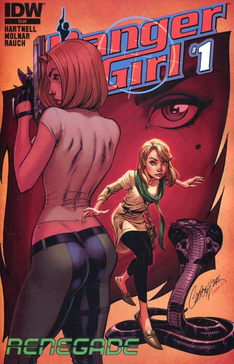 Danger Girl Renegade #1
