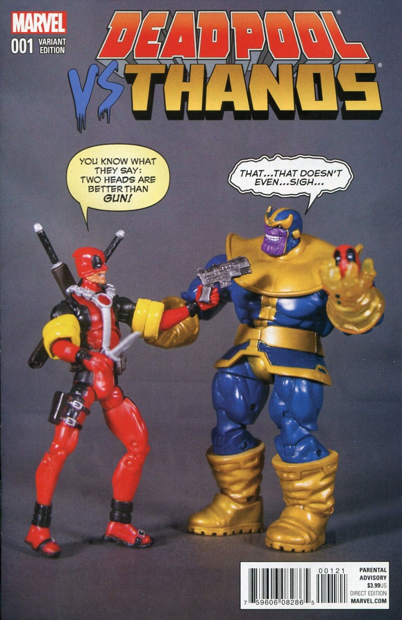 Deadpool Vs Thanos #1 Action Figure Variant