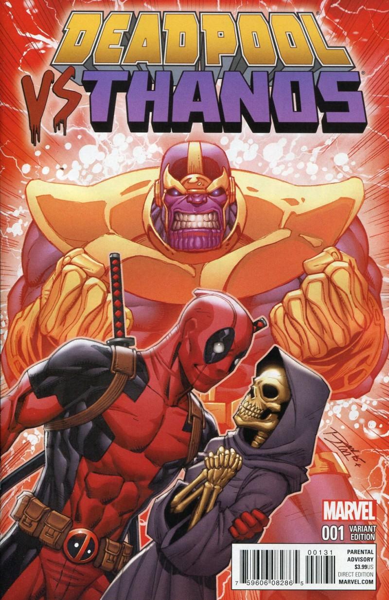 Deadpool Vs Thanos #1 Lim Variant