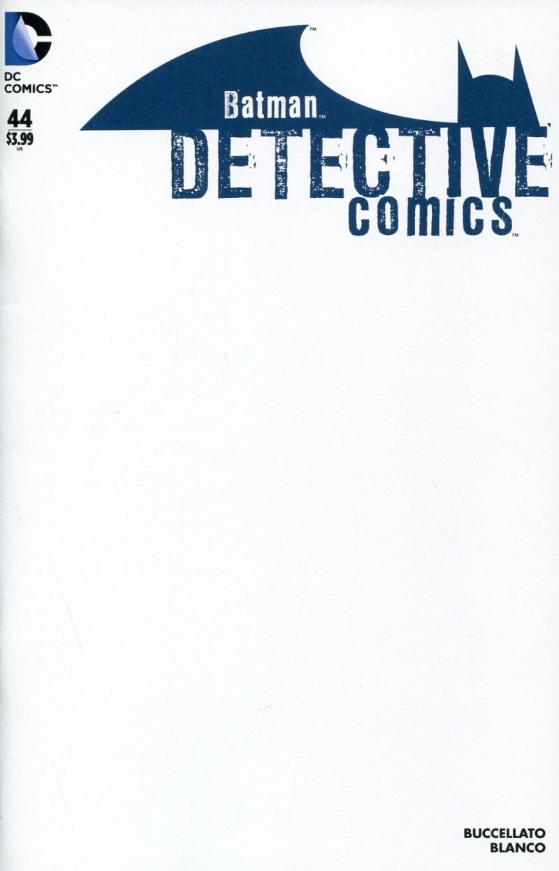 Detective Comics V2 #44 Blank Variant