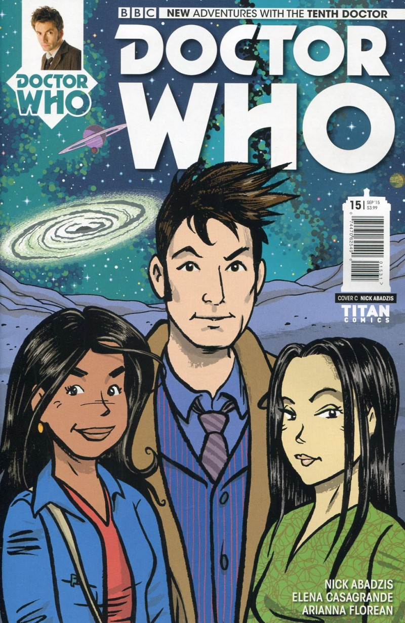 Dr Who 10th #15 Variant