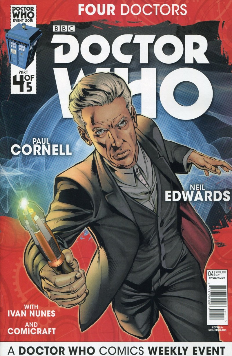 Dr Who 2015 Four Doctors  #4
