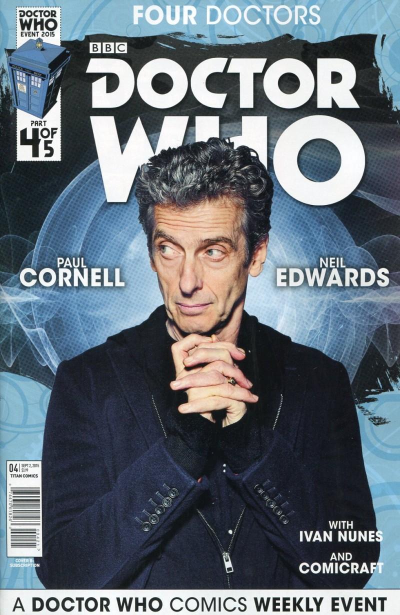 Dr Who 2015 Four Doctors  #4 Sub CVR