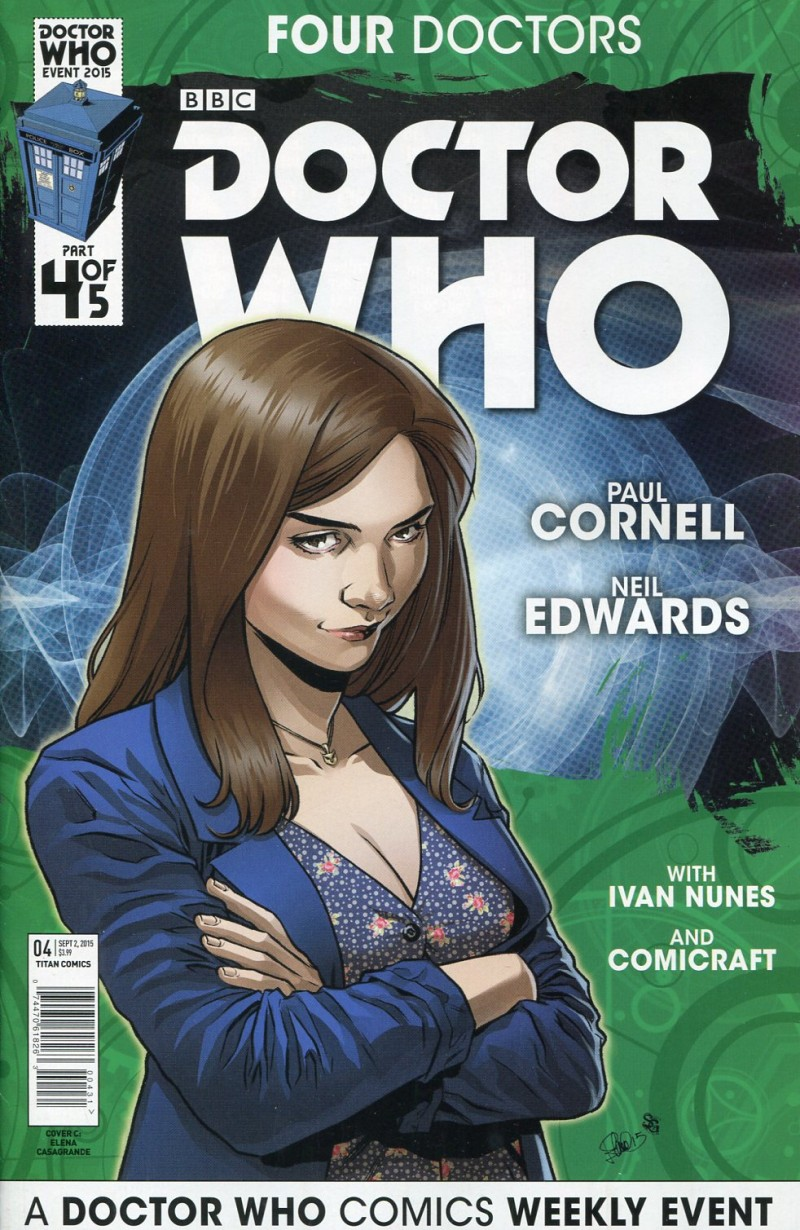 Dr Who 2015 Four Doctors  #4 Variant