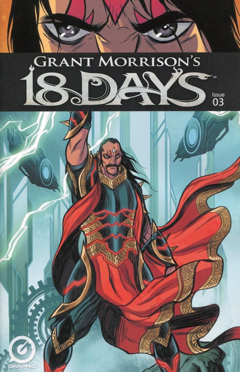 Grant Morrisons 18 Days #3 CVR A