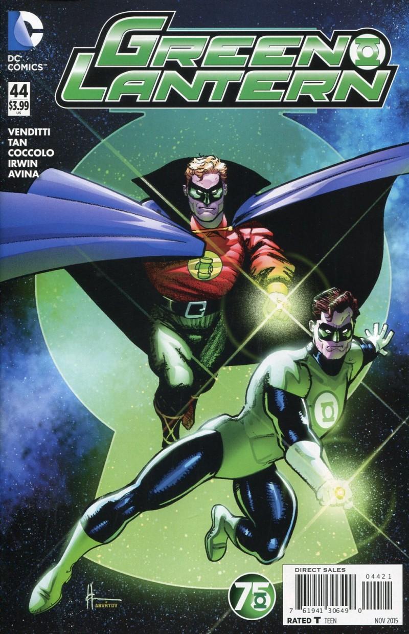 Green Lantern V5 #44  Green Lantern 75th CVR