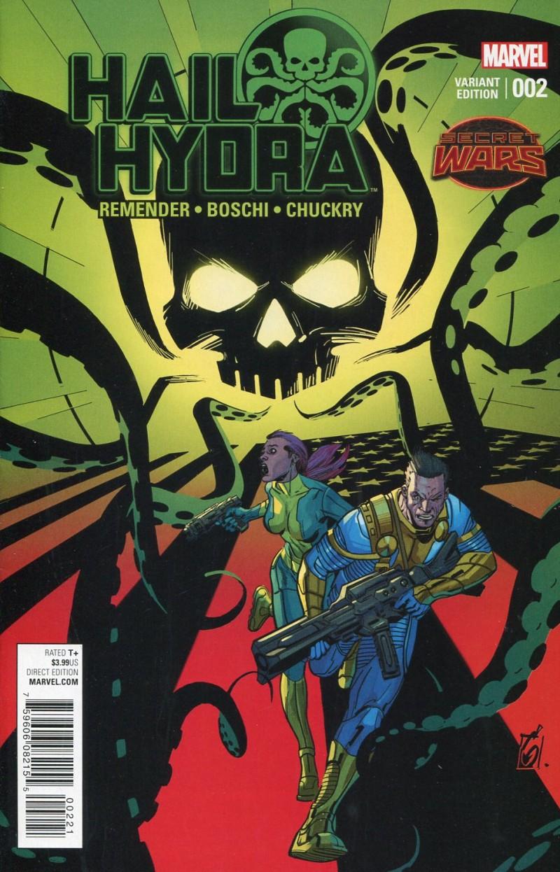 Hail Hydra #2 Garney Variant
