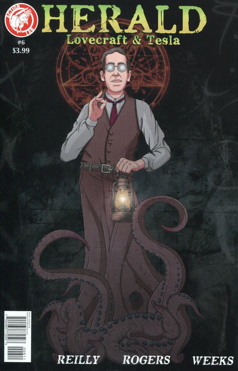 Herald Lovecraft and  Tesla #6
