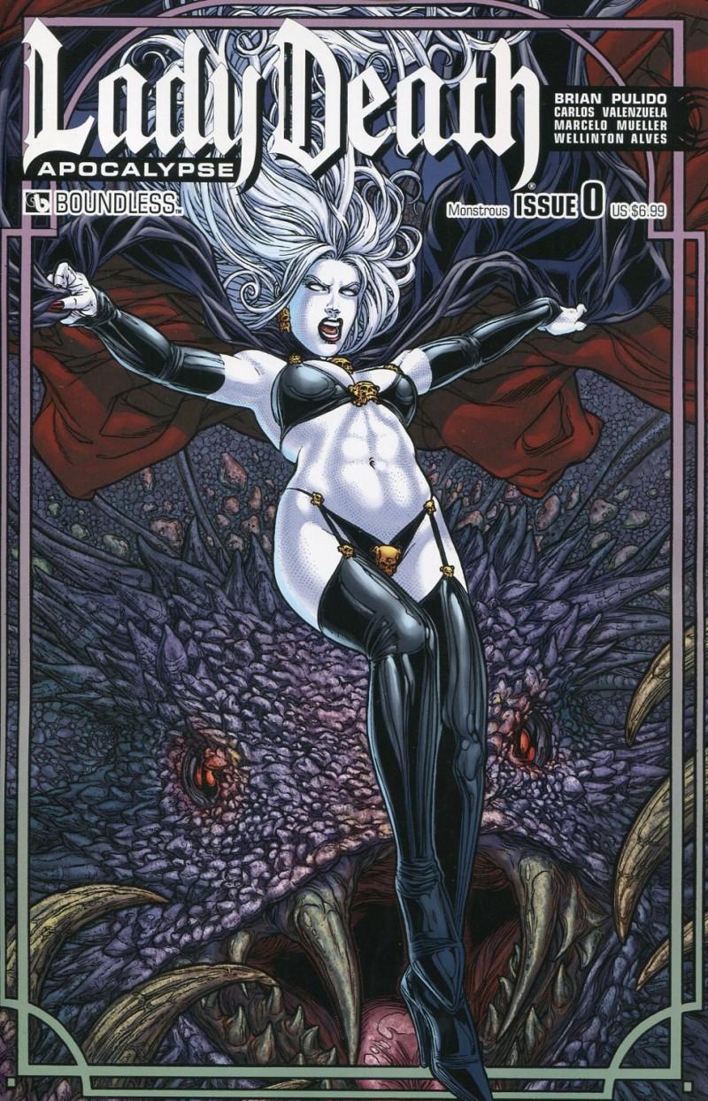 Lady Death Apocalypse #0  Monstrous CVR