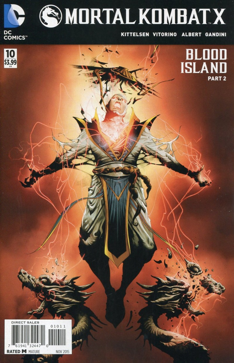 Mortal Kombat X #10