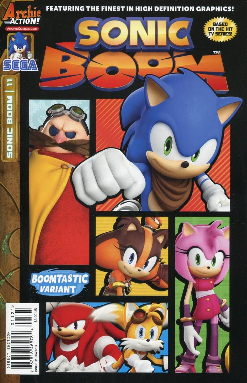 Sonic Boom #11  CVR B