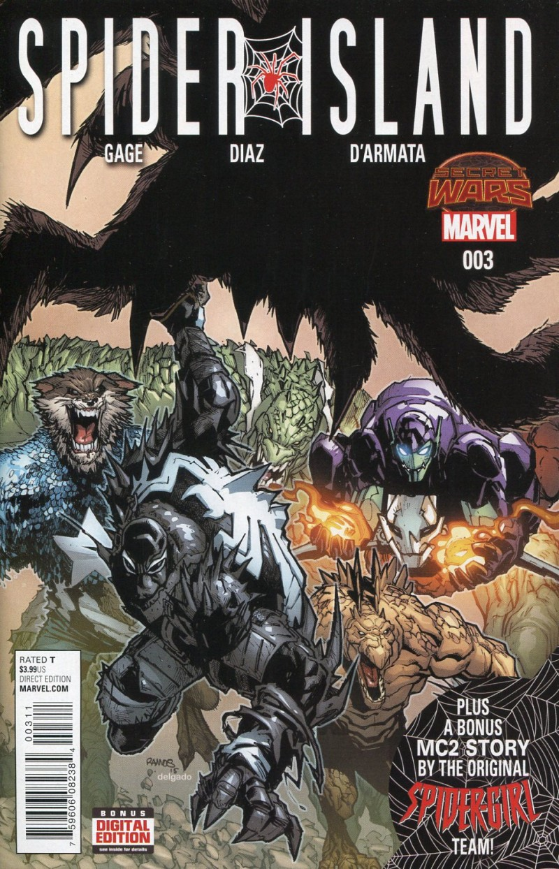 Spider-Island #3  Secret Wars