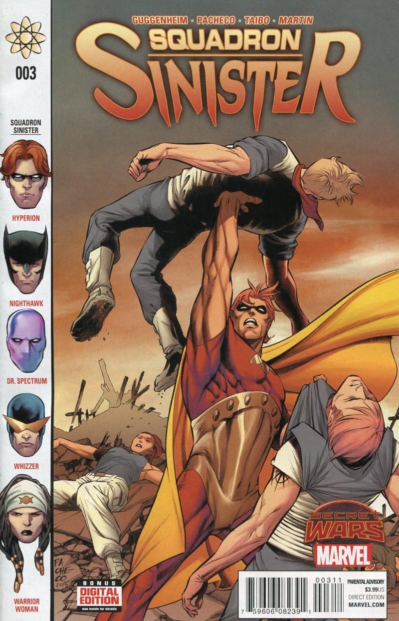 Squadron Sinister #3  Secret Wars