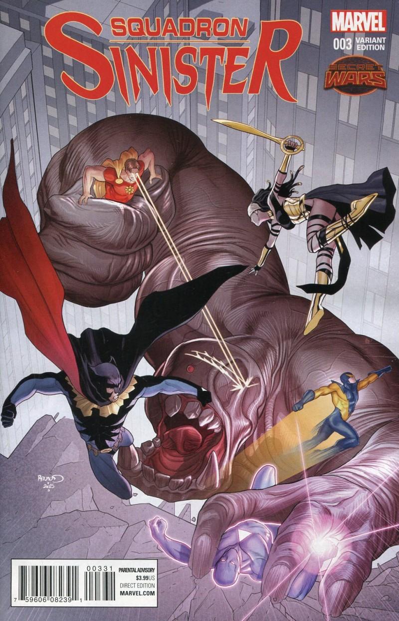 Squadron Sinister #3  Secret Wars Renaud Var