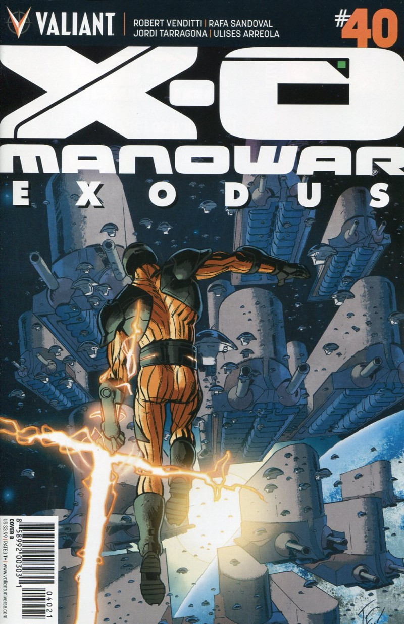 X-O Manowar V3 #40  CVR B