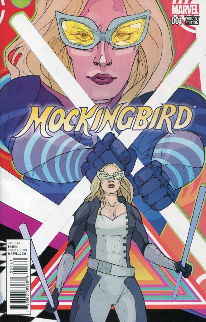 Mockingbird Shield 50th Anniversary #1 Ward Var