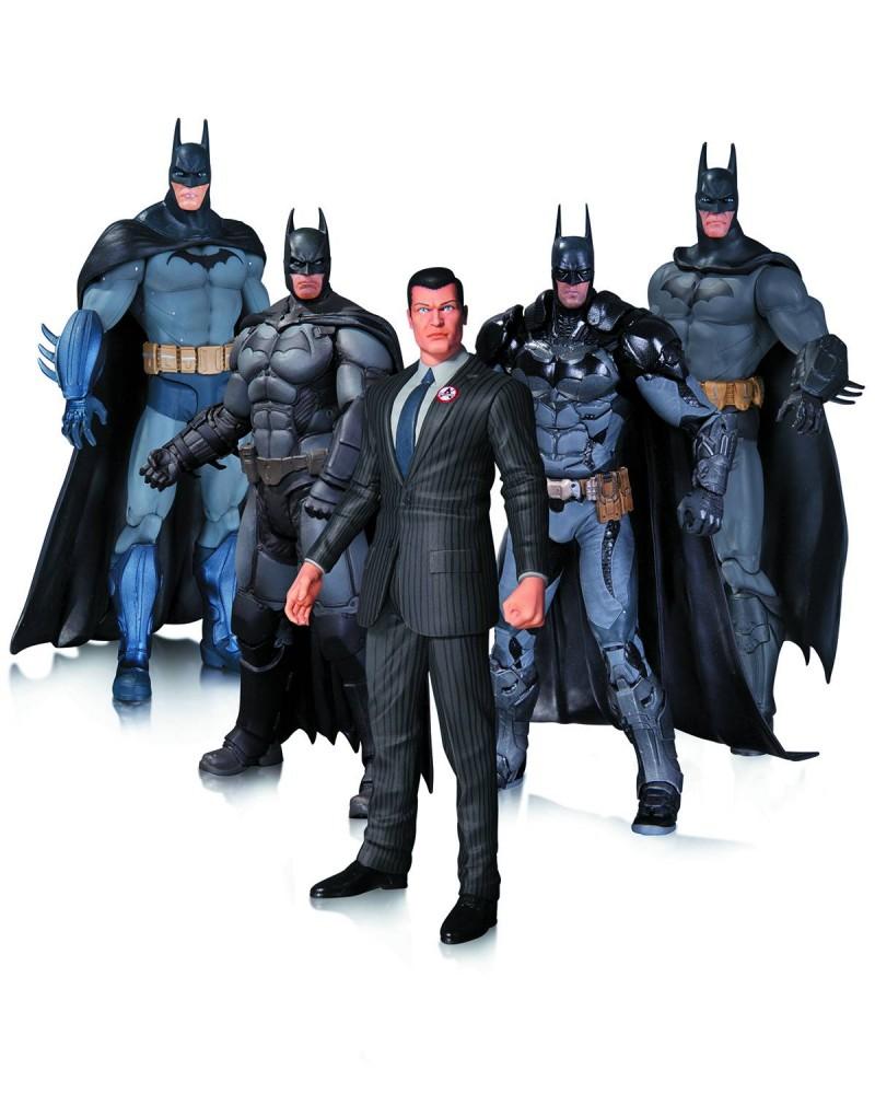 DC Direct Batman Arkham Action 5-pack