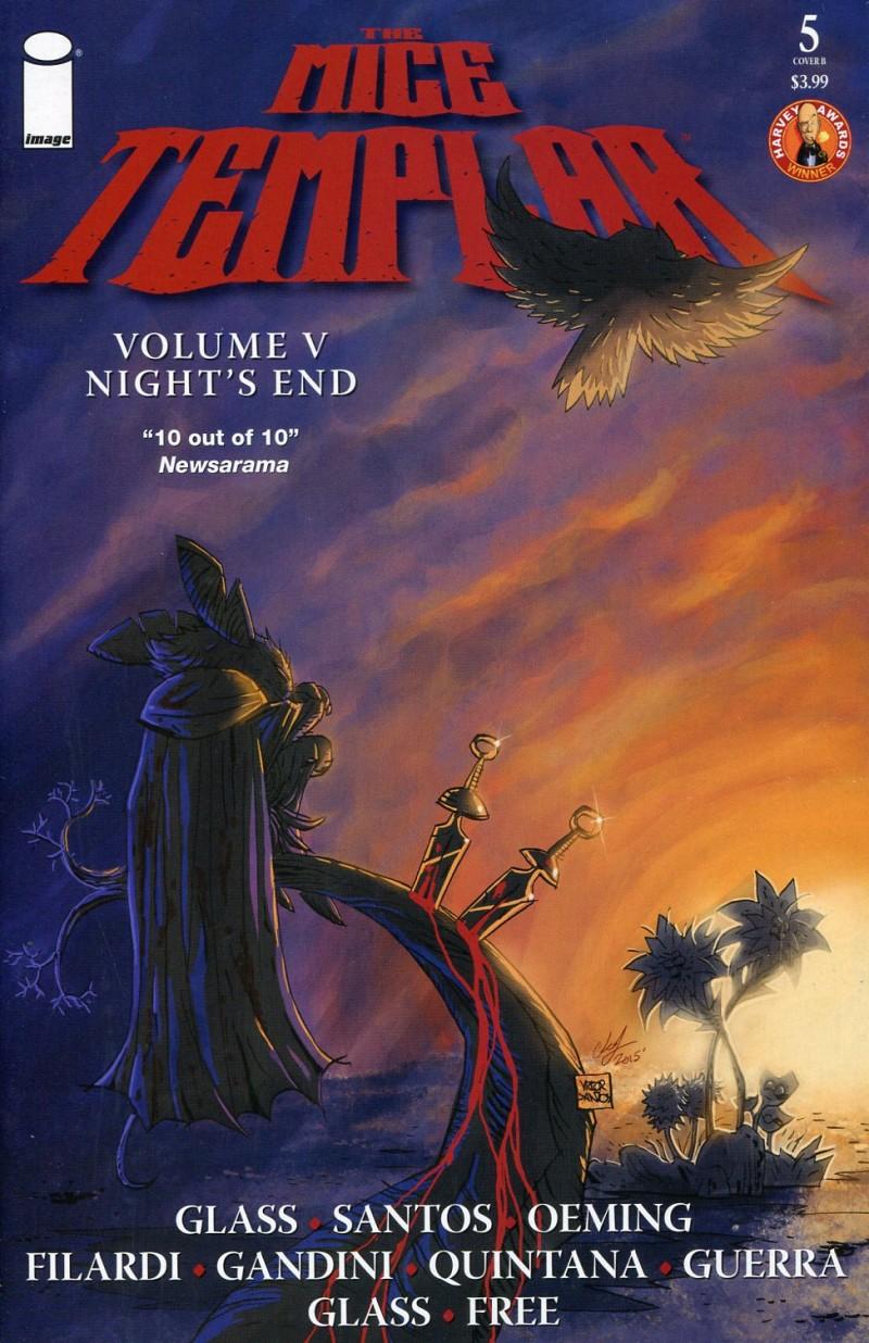 Mice Templar V5 #5 V  Nights End CVR B