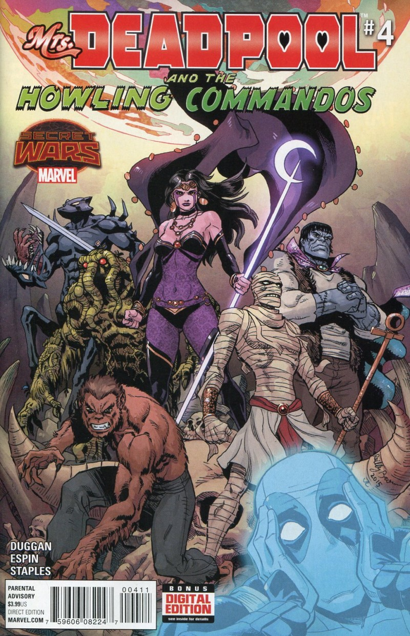 Mrs Deadpool and Howling  Commandos #4