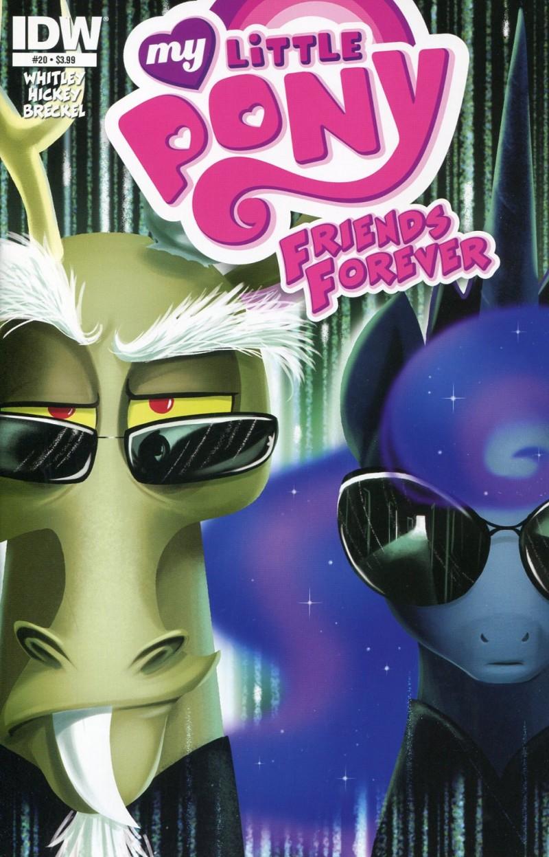 My Little Pony Friends  Forever #20 CVR A