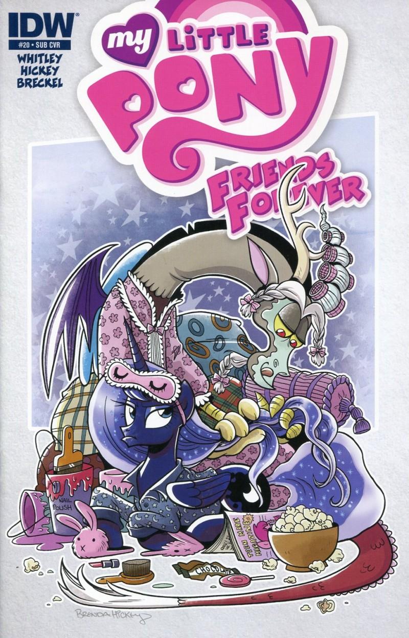 My Little Pony Friends  Forever #20 CVR B