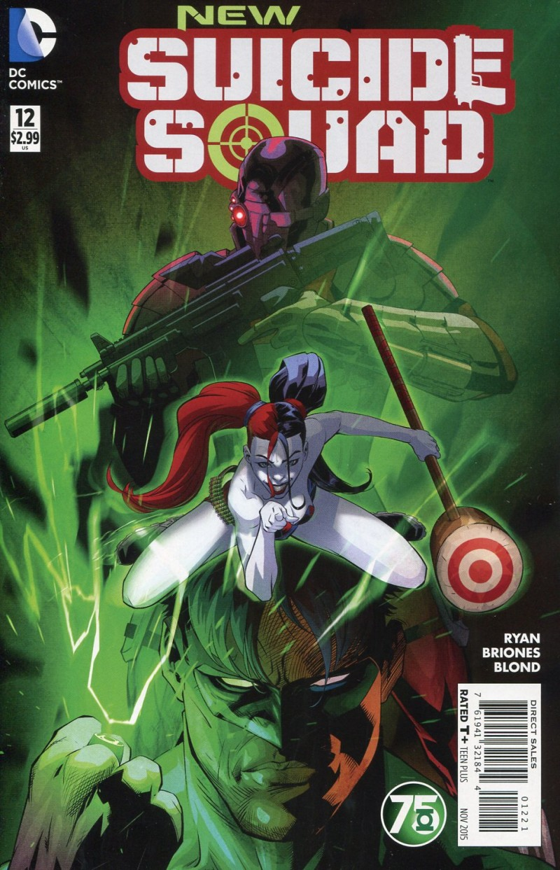 Suicide Squad V5 #12  (New) Green Lantern 75th