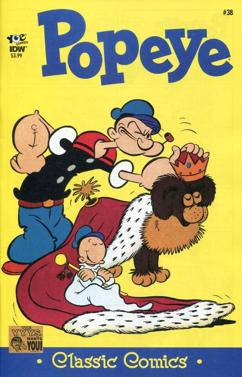 Popeye Classic #38