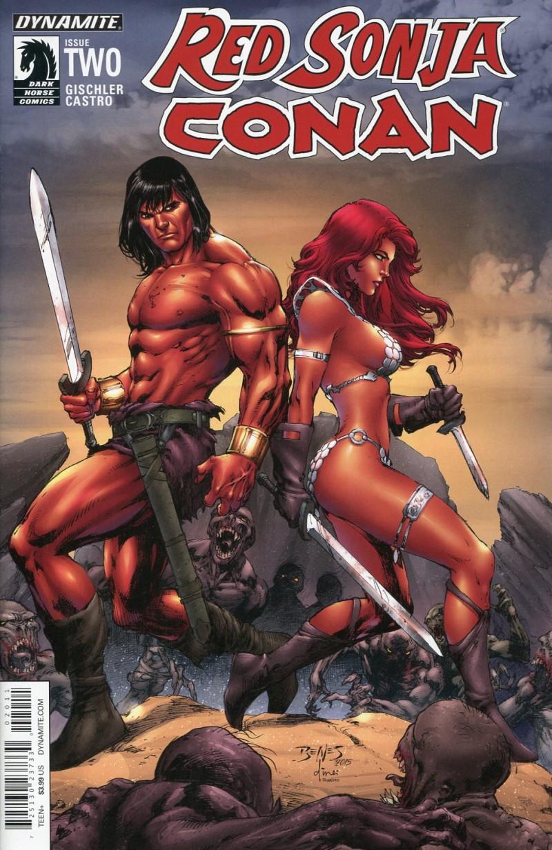 Red Sonja Conan #2  CVR A