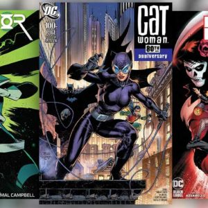 Catwoman 80th Anniversary, Birds of Prey #1, and more new comics