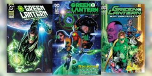 Green Lantern 80th Anniversary issue with special covers spanning the decades