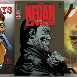 Negan Lives in a very special The Walking Dead issue