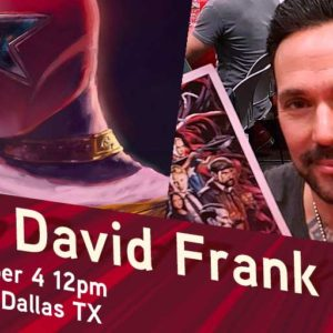 Jason David Frank at Zeus this Sunday!